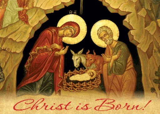 Christ Is Born Merry Orthodox Christmas Day