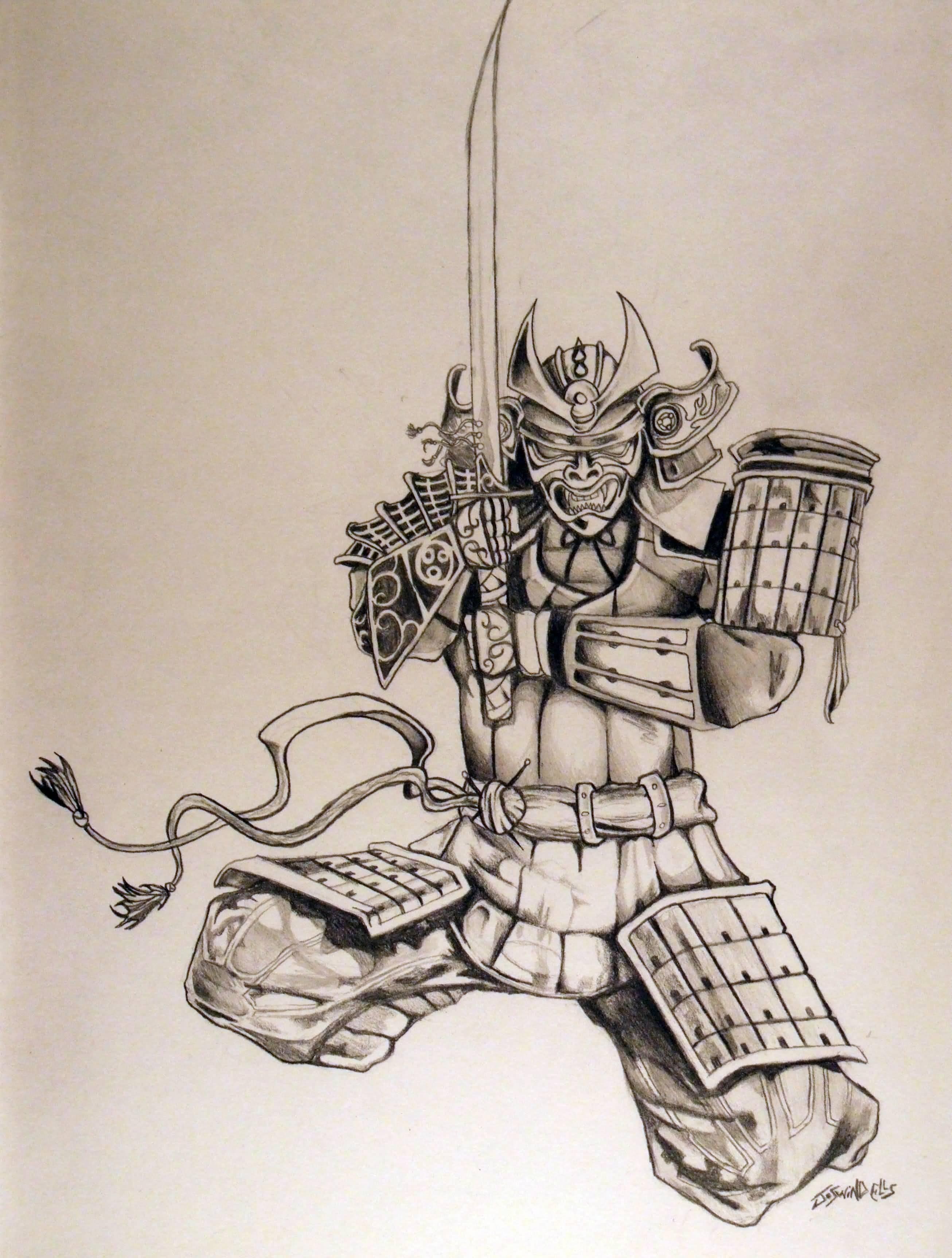 50 samurai warriors tattoos ideas and meanings. Black Bedroom Furniture Sets. Home Design Ideas