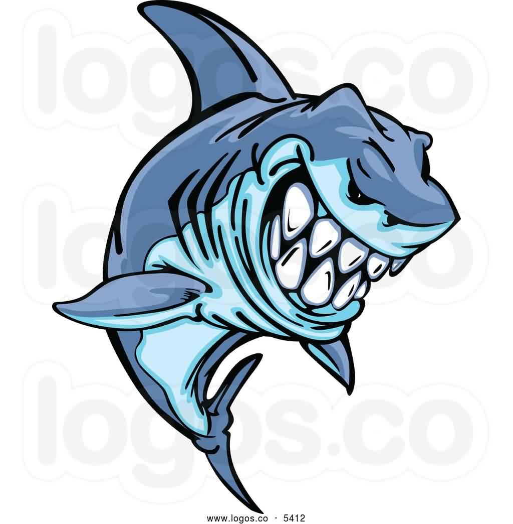 Cool Shark Tattoo Design