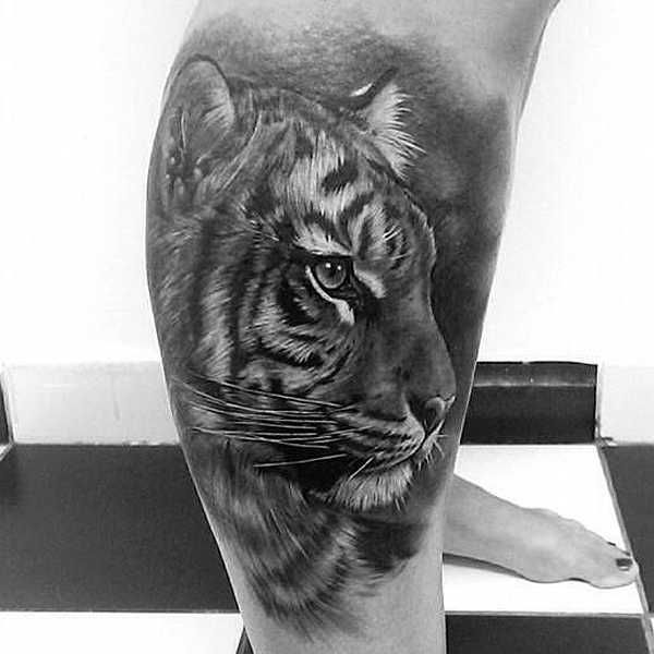 61 all time best tiger tattoos designs with meanings for Cool tiger tattoos