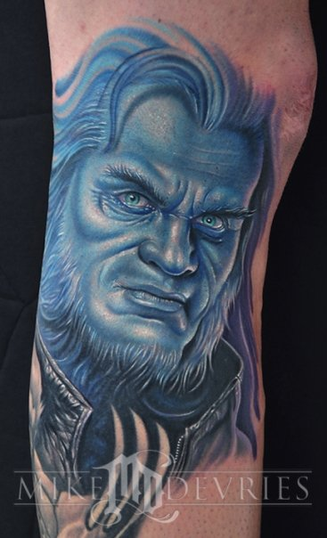 X Men X Tattoo Cool X-Men Beast Tatto...