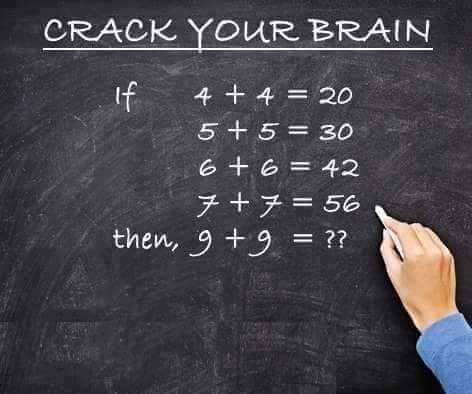 Crack Your Brain : Math Puzzle