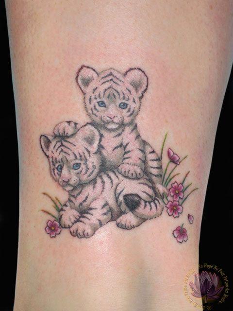 57 cute baby tiger tattoos ideas for Cute baby tattoos