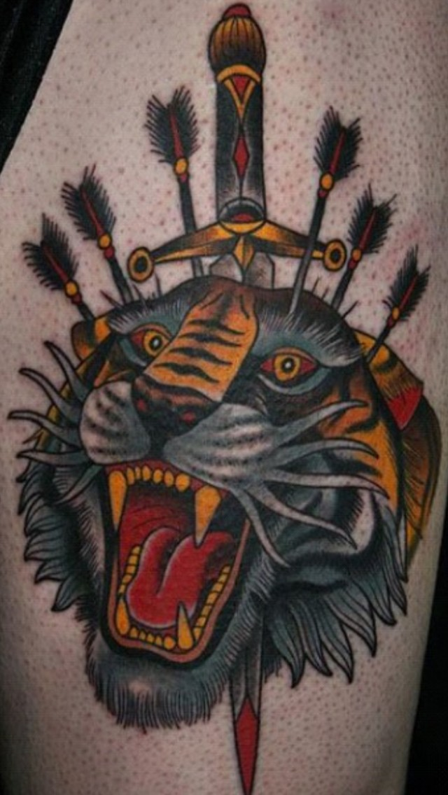 47+ Tiger And Dagger T...