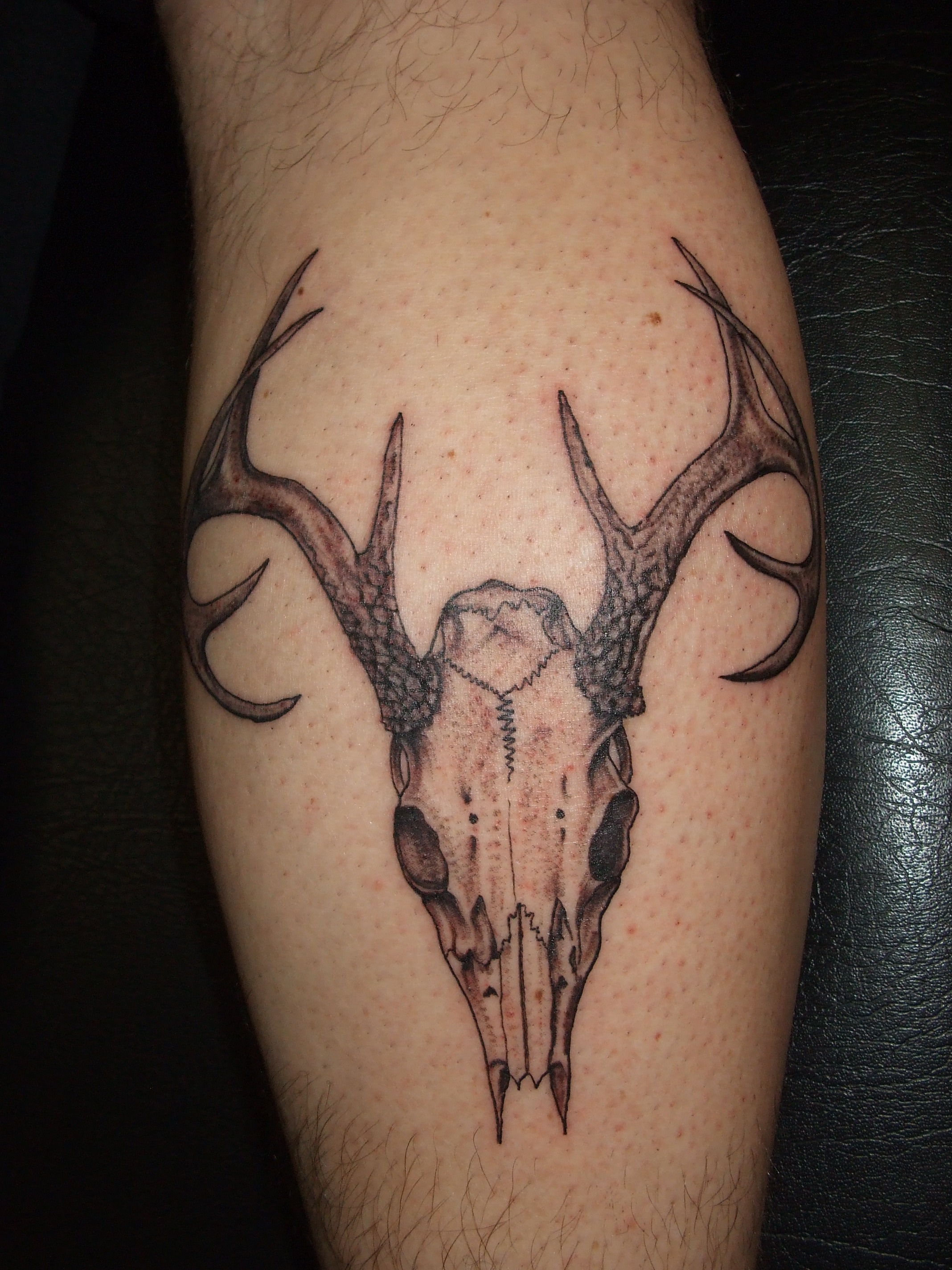 58 deer antler tattoos collection with meanings. Black Bedroom Furniture Sets. Home Design Ideas