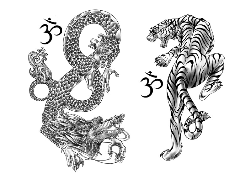 de5d4bf37 62+ Chinese Tiger Tattoos With Meanings