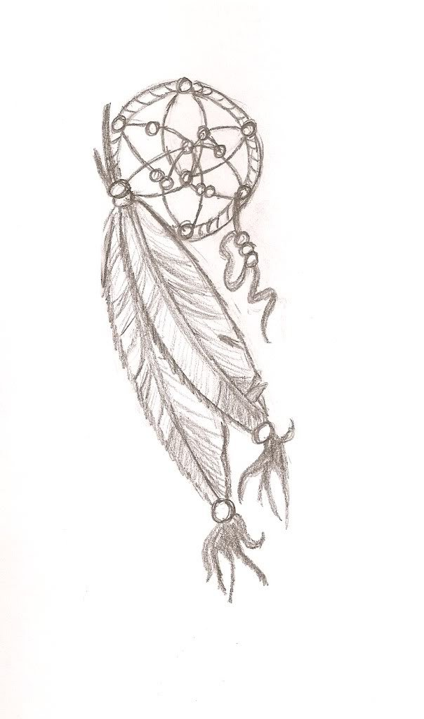 Simple Dream Catcher Tattoos 40 Best and Simple Dreamcatcher Tattoos 10