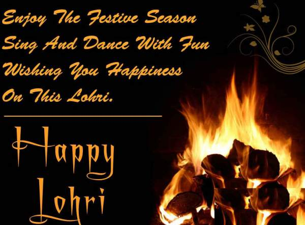 56 most adorable lohri 2017 wish pictures and photos enjoy the festive season sing and dance with fun wishing you happiness on this lohri happy m4hsunfo