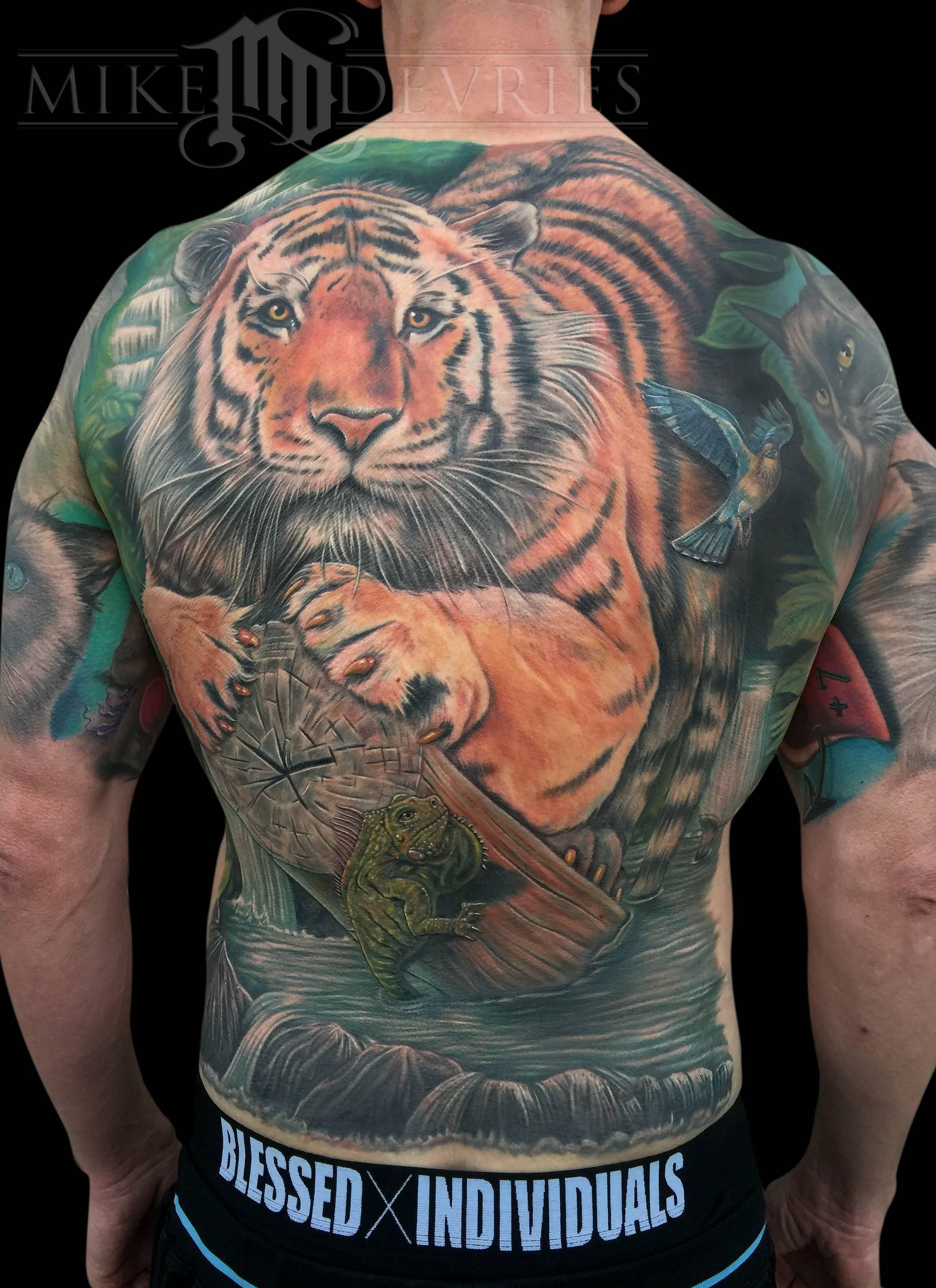 mike devries tattoos askideascom