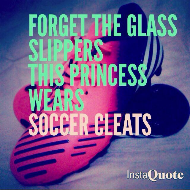 Forget The Glass Slippers This Princess Wears Soccer Cleats