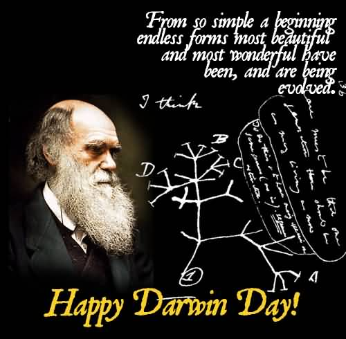 Darwin Day - February  12  IMAGES, GIF, ANIMATED GIF, WALLPAPER, STICKER FOR WHATSAPP & FACEBOOK