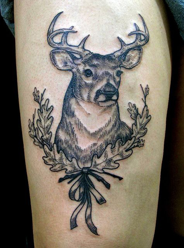 Deer Tattoos For Girls : Deer tattoos collection for girls