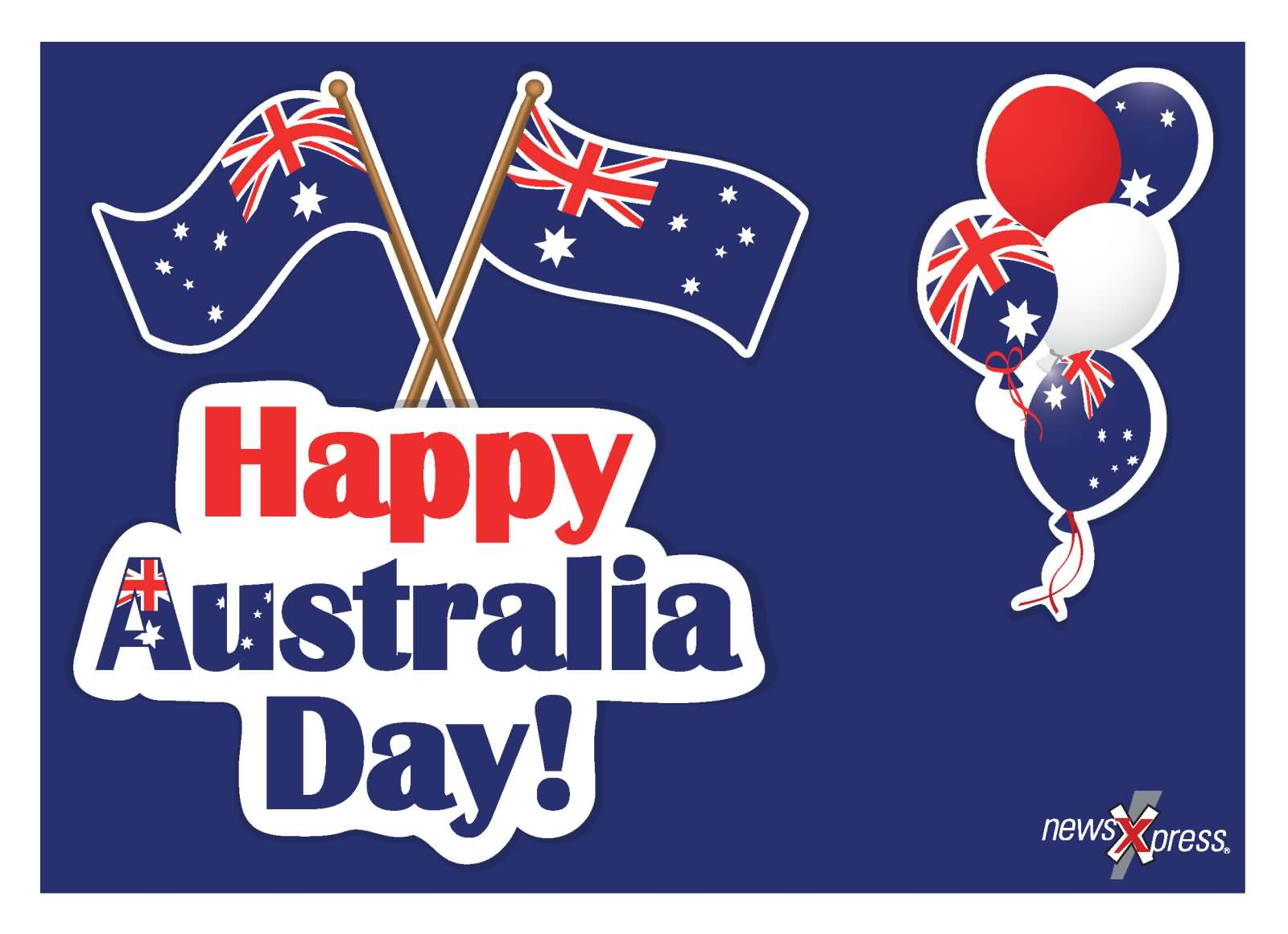 Happy Australia Day Greeting Card