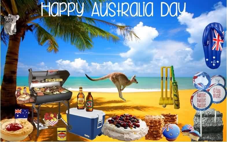 Happy Australia Day Symbols Of Australia