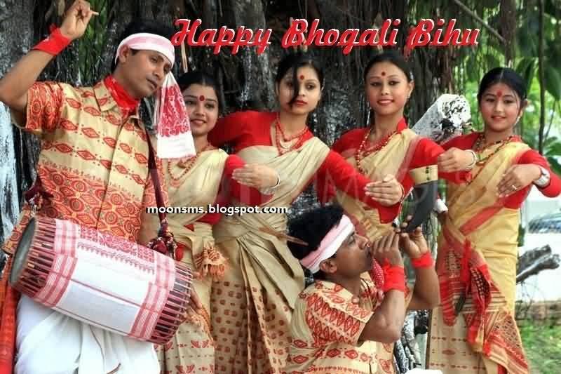 50 most beautiful happy bihu greeting pictures and images happy bhogali bihu celebration m4hsunfo