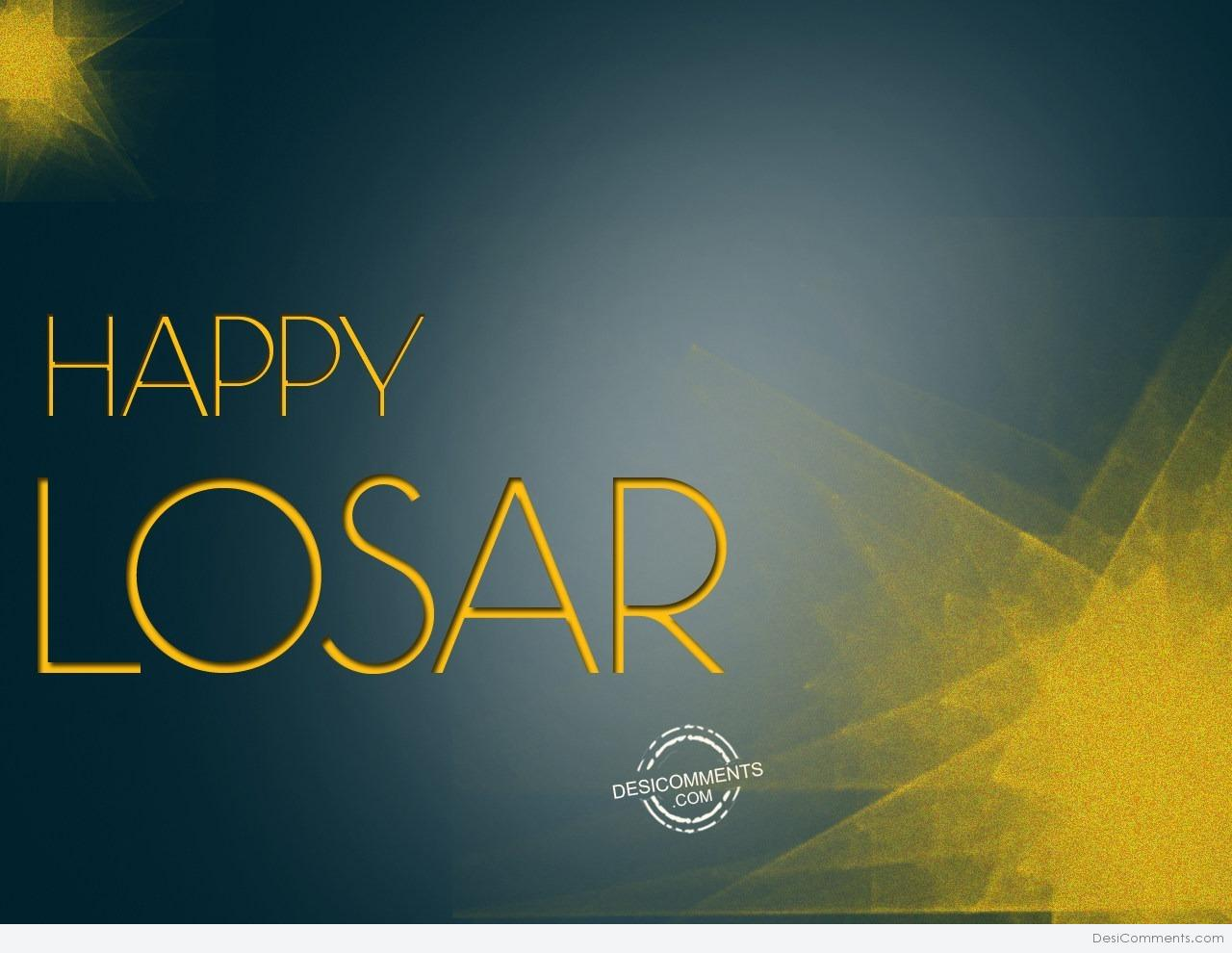 Happy Losar To All My Friends Tibetan New Year