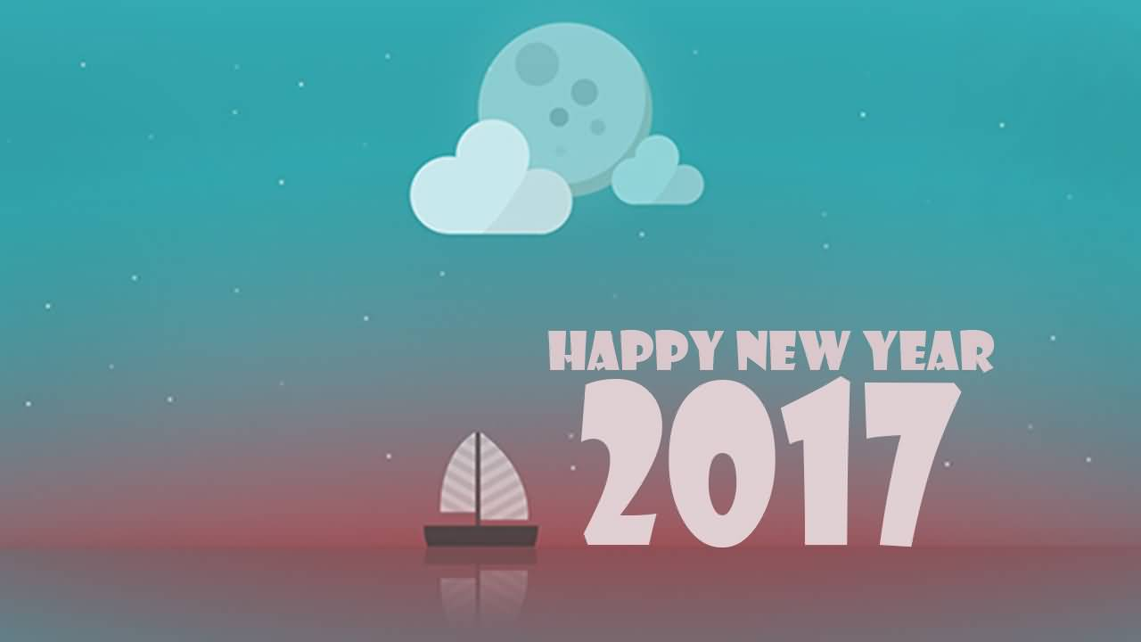 40 most incredible happy new year wish images and pictures happy new year 2017 greeting card kristyandbryce Gallery