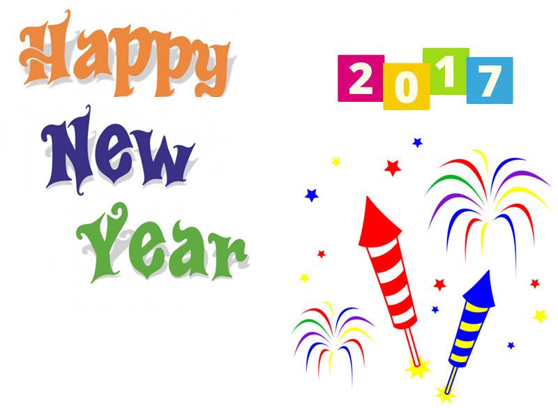 logo new year clip art
