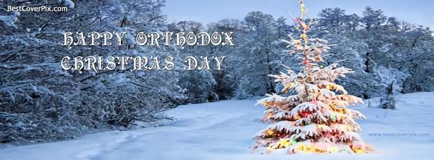 Happy Orthodox Christmas Day Wishes Facebook Timeline Cover