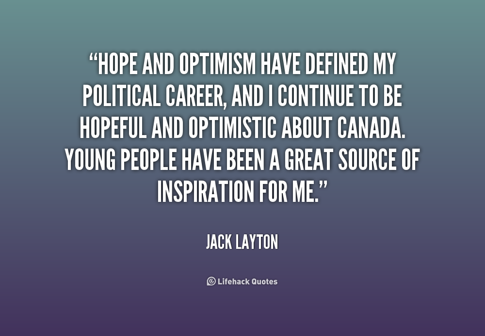 62 All Time Best Optimism Quotes And Sayings