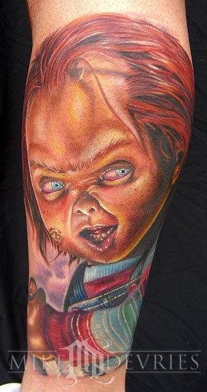 Chucky tattoos for Bride of chucky tattoo