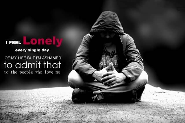 Lonely person wallpaper