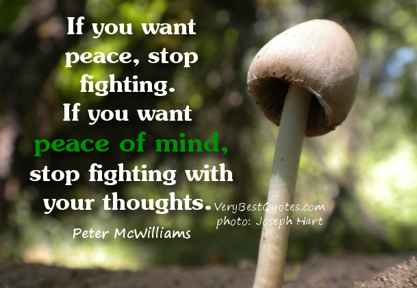 64 Best Peace Of Mind Quotes And Sayings