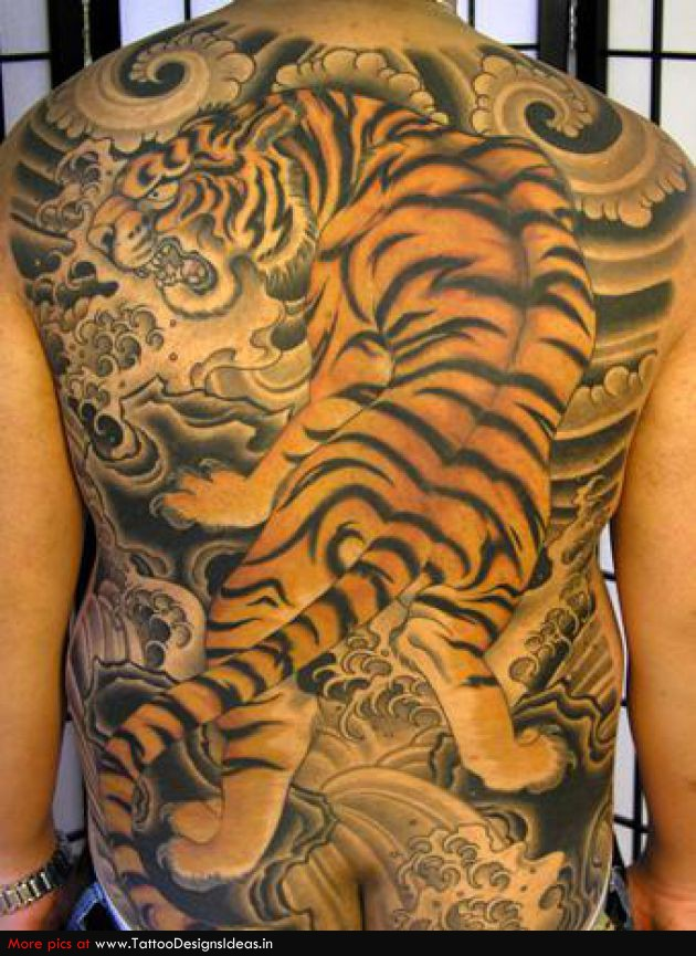 7cbd6d4ed 53+ Japanese Tiger Tattoos And Ideas