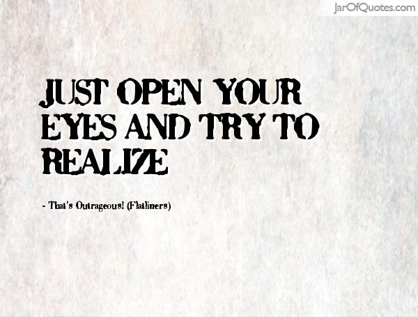 Image result for open your eyes