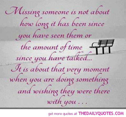 Missing Someone Isnu0027t About How Long It Has Been Since Youu0027ve Seen