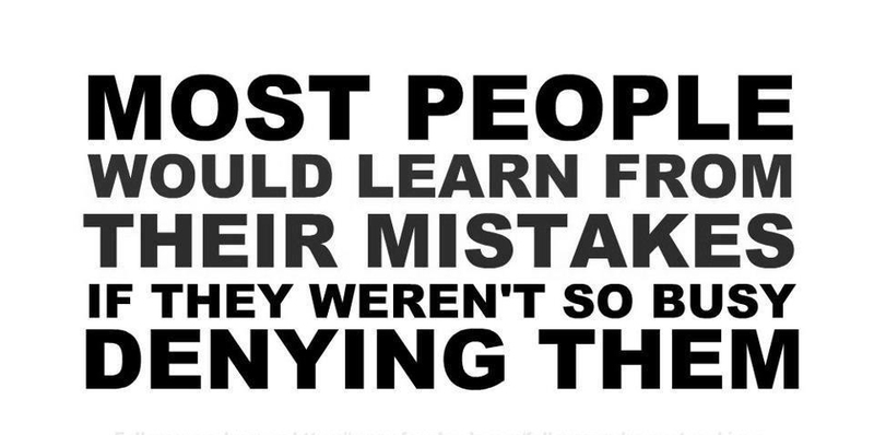 do people learn from their mistakes Best answer: people can learn from there mistakes and can learn from history too if they choose to but what past presidents and party's did does not necessarily.