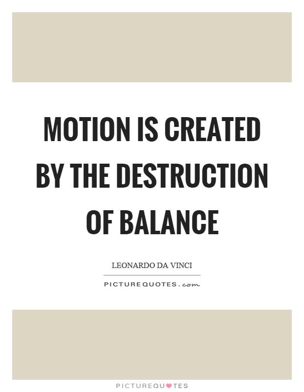 da vinci balance