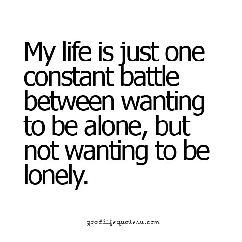 62 best loneliness quotes and sayings. Black Bedroom Furniture Sets. Home Design Ideas