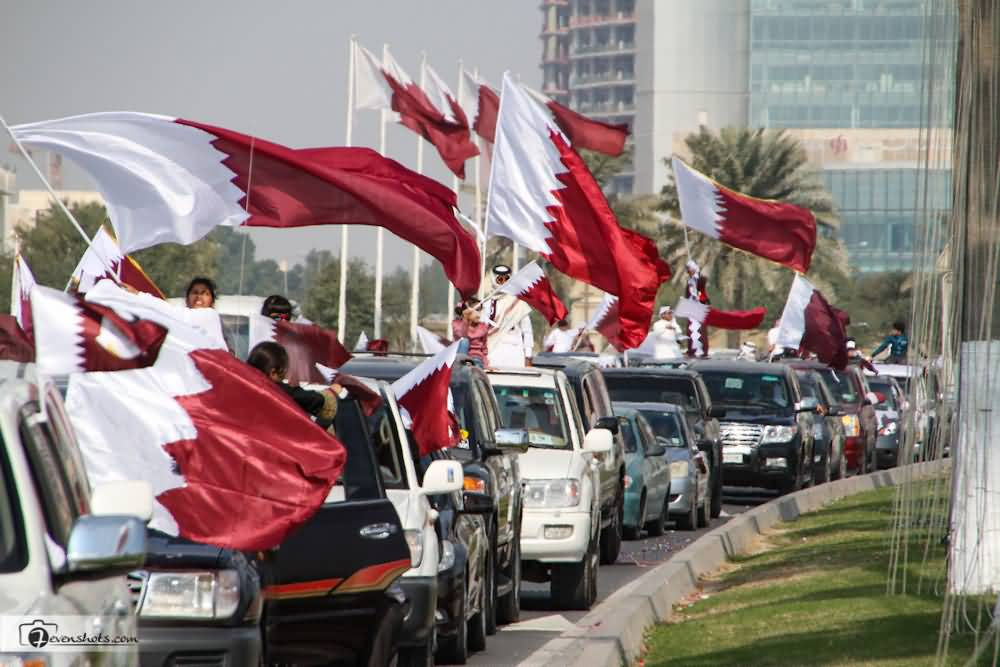 Happy National Day Qatar