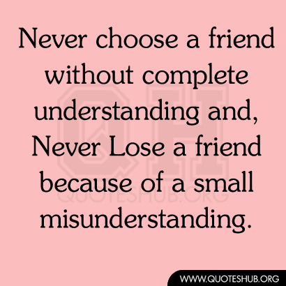 Quotes About Friendship Misunderstanding Gorgeous 62 All Time Best Misunderstanding Quotes And Sayings