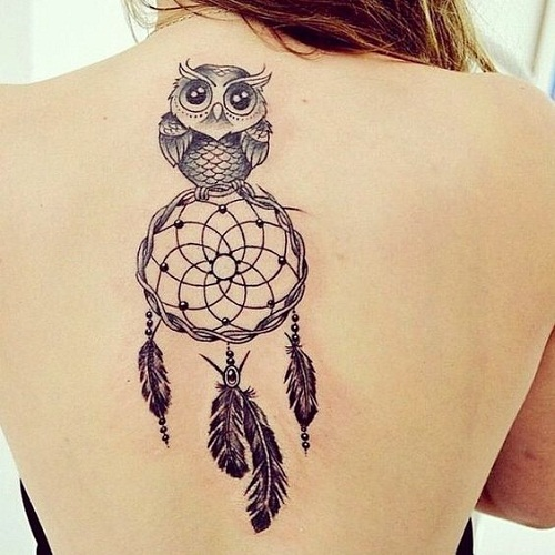 64 Best And Simple Dreamcatcher Tattoos