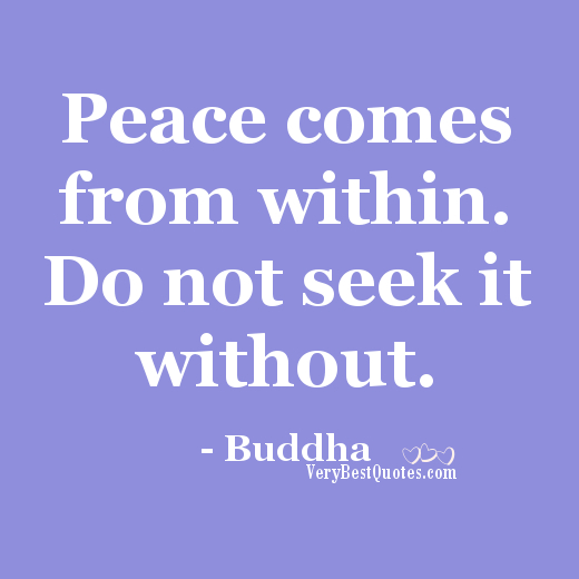 Quotes About Peace: 64 Best Peace Of Mind Quotes And Sayings