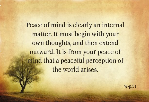 Peace Of Mind Quotes Askideascom