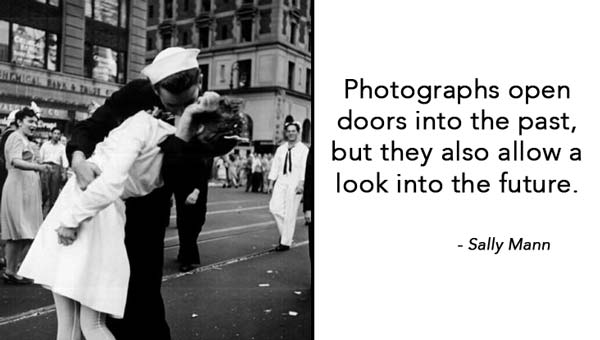 People Quotes Sayings Pictures And Images: Photographs Open Doors Into The Past But They Also Allow A