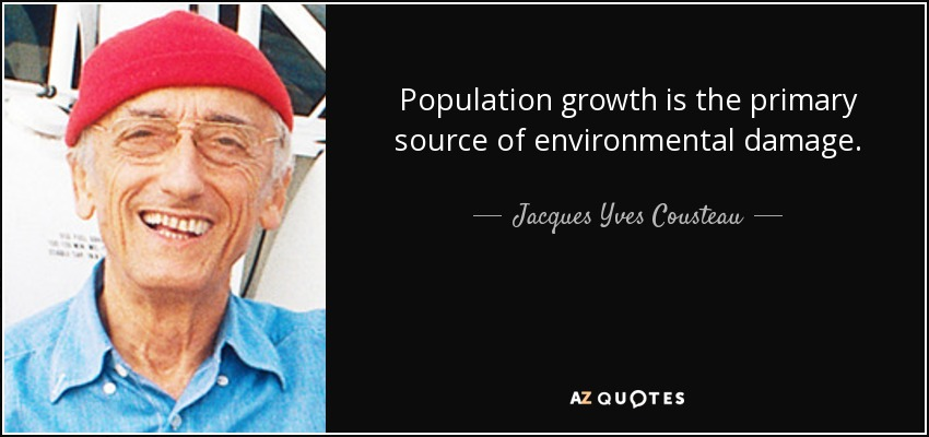 population growth is the primary source