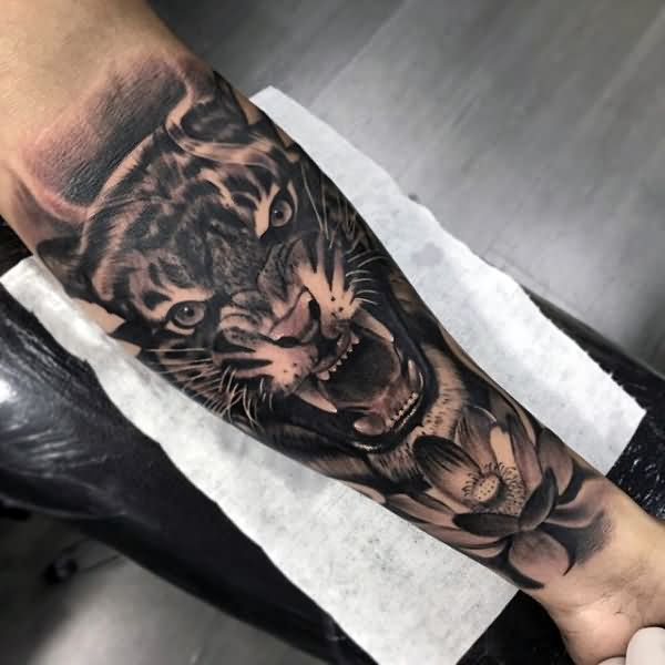 62+ Best Tiger Tattoos On Forearm
