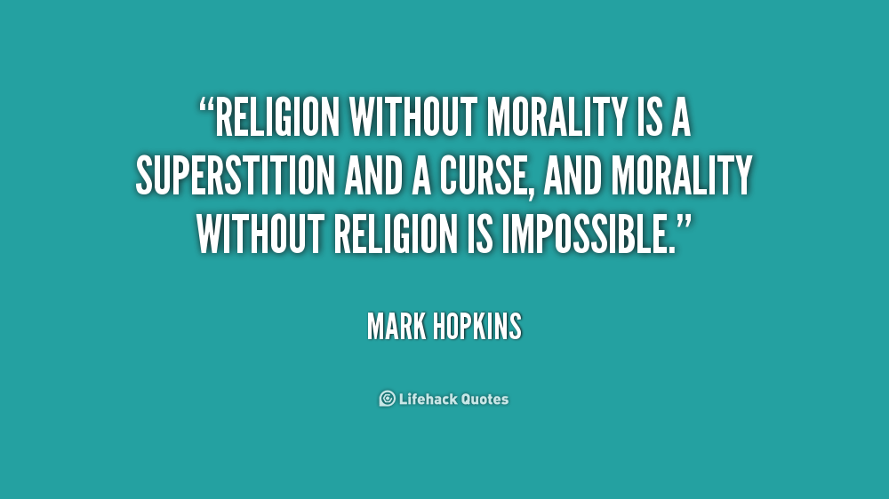 religion and morality essay