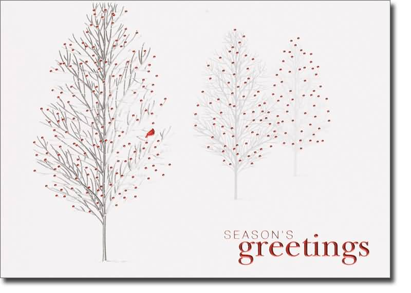 25 beautiful seasons greeting cards images seasons greetings beautiful trees card m4hsunfo