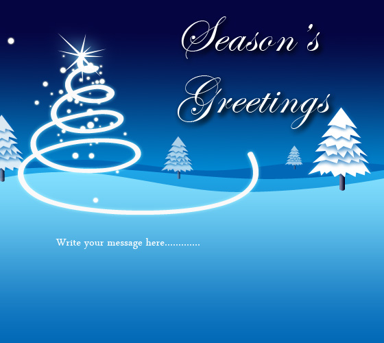 beautiful season's greeting cards images, Greeting card