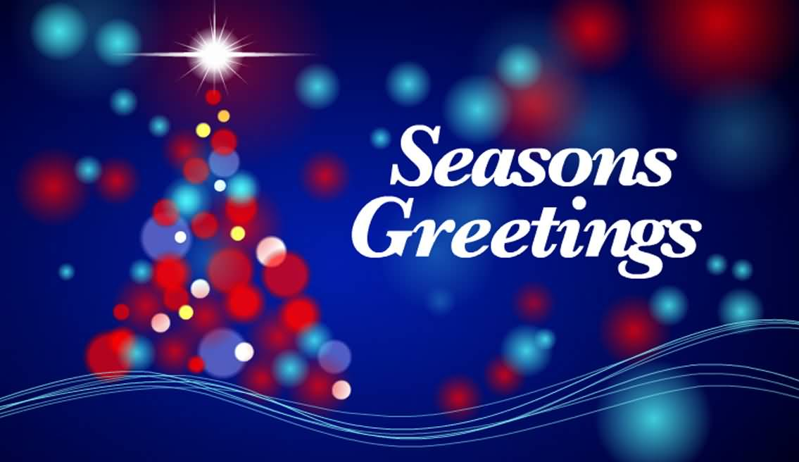 50 most beautiful seasons greeting pictures and photos seasons greetings dots christmas tree m4hsunfo