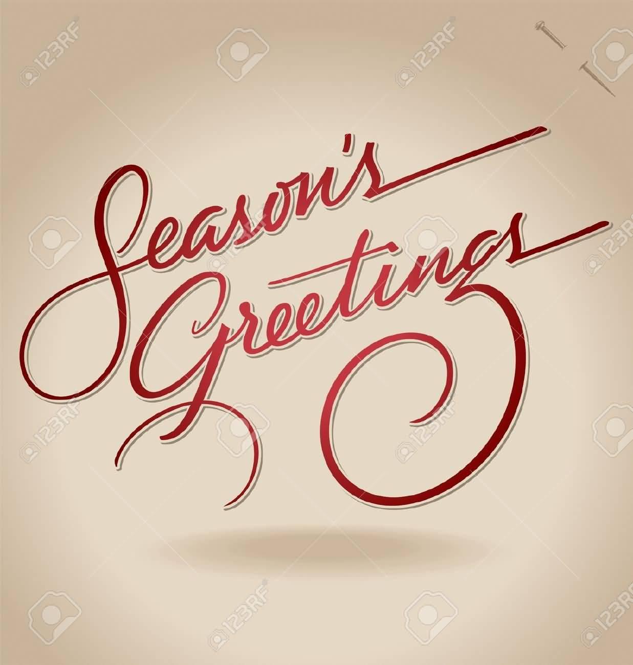 55 Best Seasons Greetings And Photos