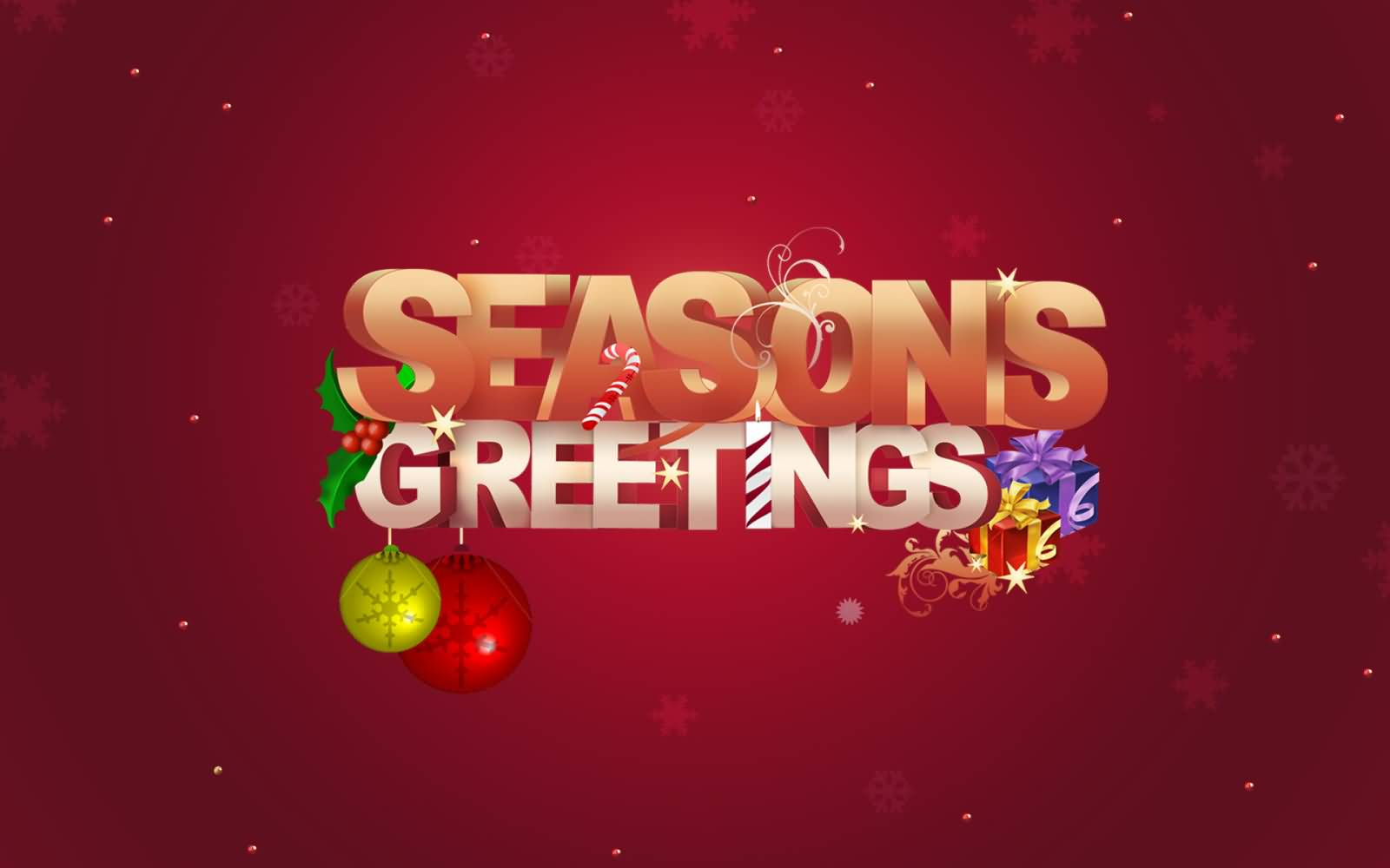 55 Best Seasons Greetings And Photos