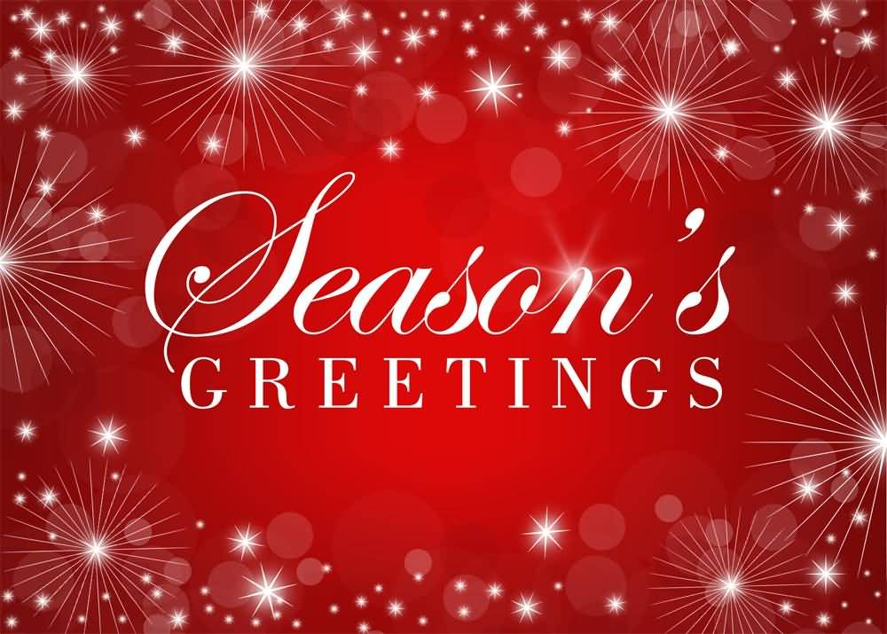 Seasons greetings red background picture m4hsunfo
