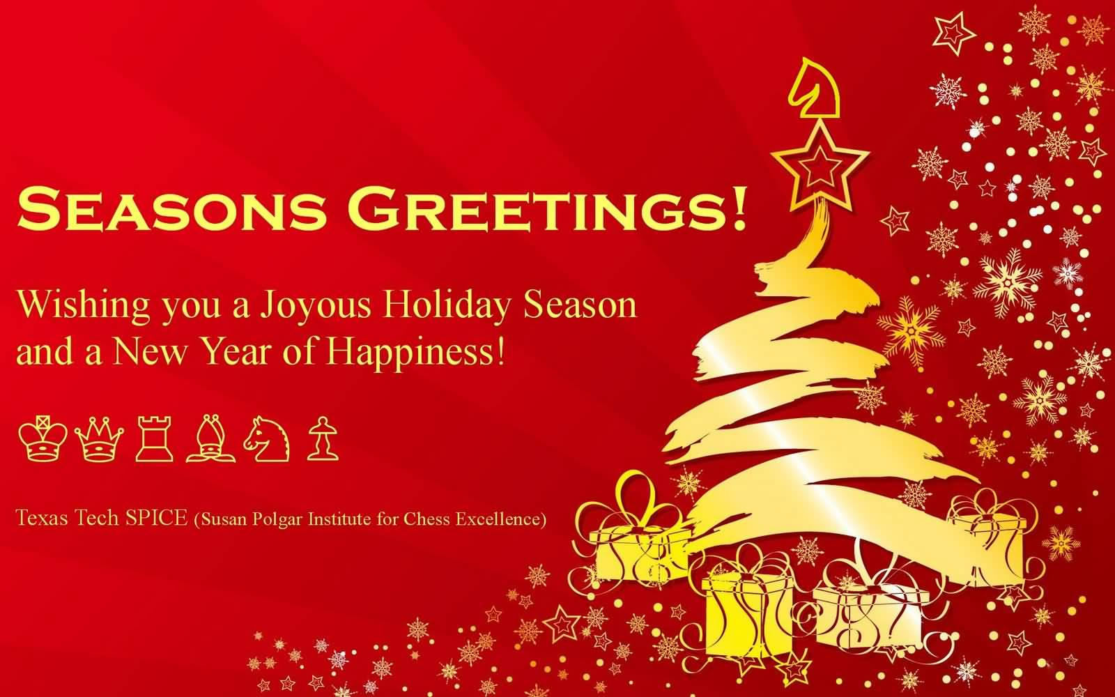 25 beautiful seasons greeting cards images seasons greetings wishing you a joyous holiday season and a new year of happiness m4hsunfo