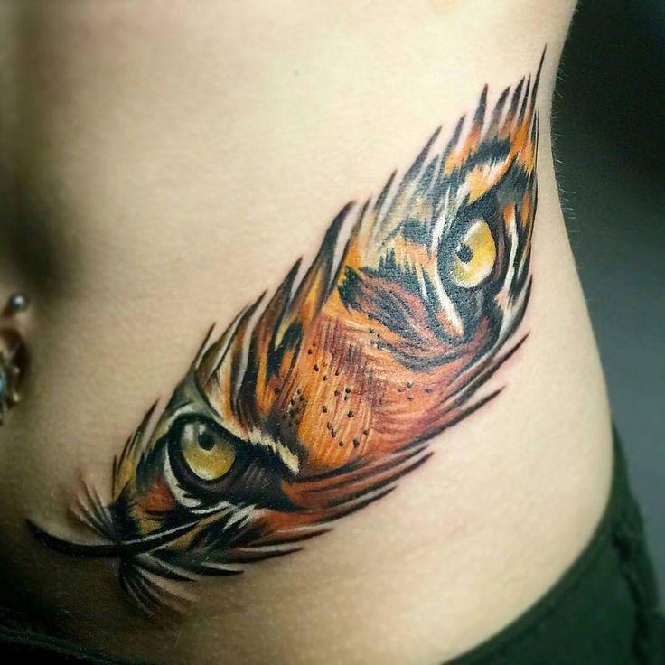 58 tiger eyes tattoos ideas for Tiger tattoos for females